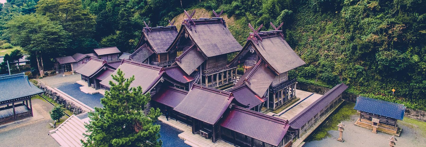 島根県 佐太神社